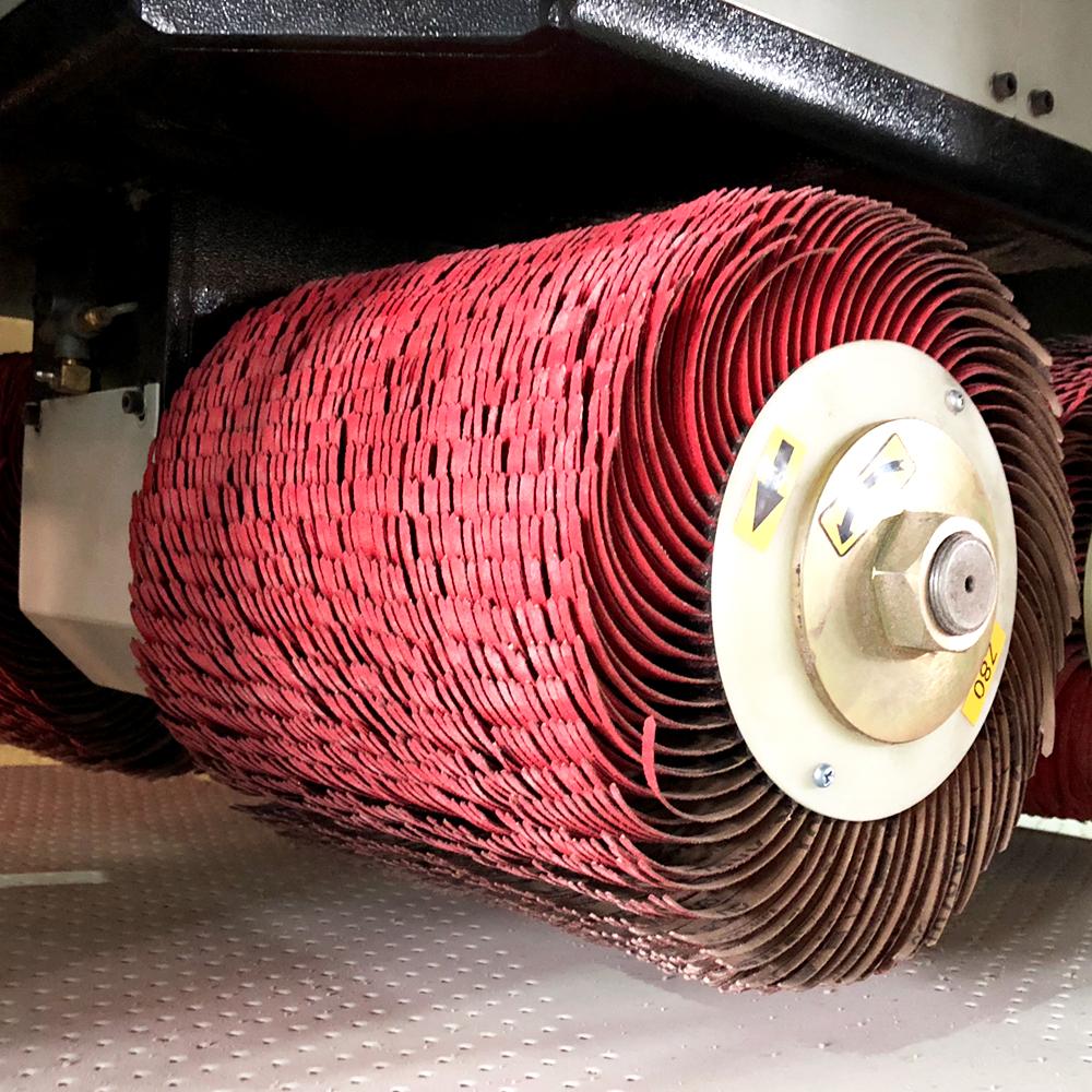 SP800 穩定高效的去毛刺、倒圓角、拉絲設備