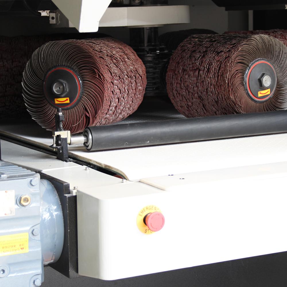 SGP1000 穩定高效的金屬去毛刺、倒圓角、拉絲設備