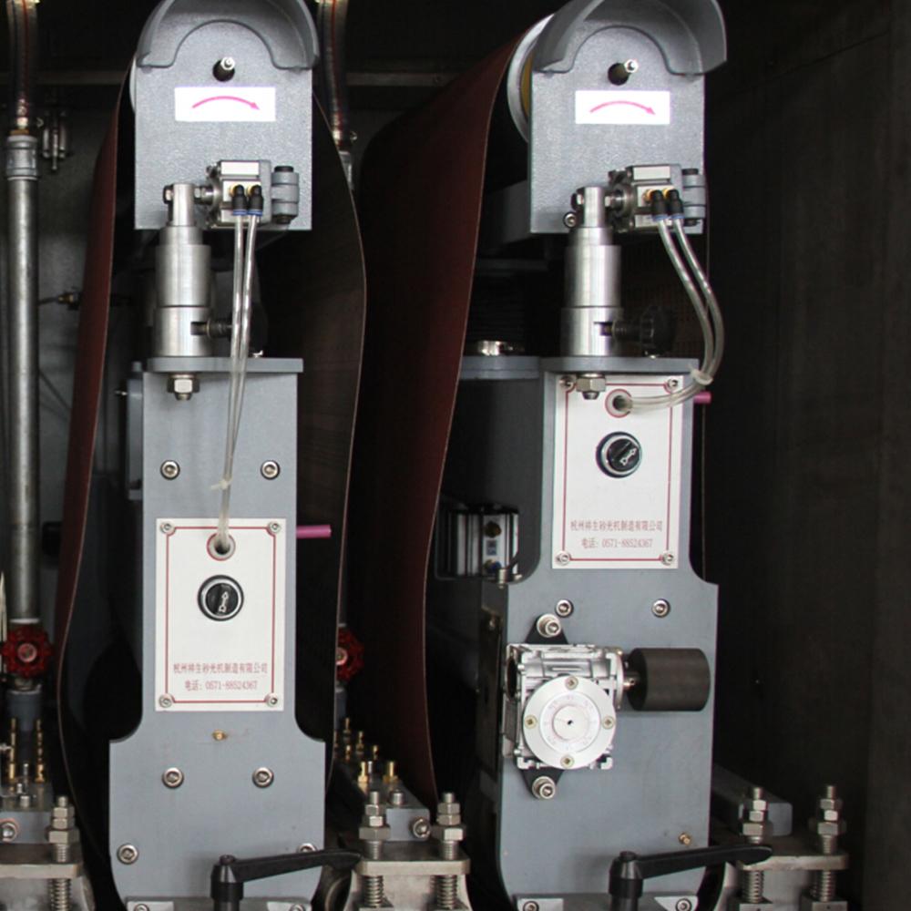 SG630-WJS 冷態加工的入門級自動砂帶打磨設備